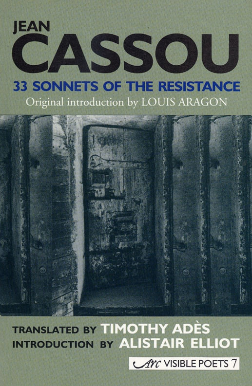front cover of Jean Cassou, 33 Sonnets